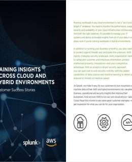 Gaining Insights Across Cloud and Hybrid Environments