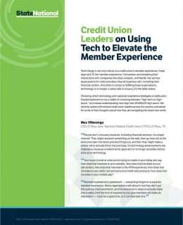 How Tech Strategy Elevates the Member Experience