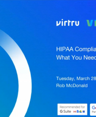 webinar 190x230 - HIPAA Compliance with G Suite, webinar