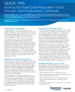 Screenshot 2019 04 12 QuickTips Biz Continuity FINAL pdf 260x320 - Picking the Right Data Replication Tools  Ensures Optimal Business Continuity