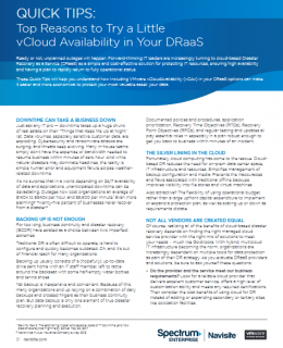 Screenshot 2019 04 12 QuickTips vCAv FINAL pdf 260x320 - Top Reasons to Try a Little vCloud Availability in Your DRaaS