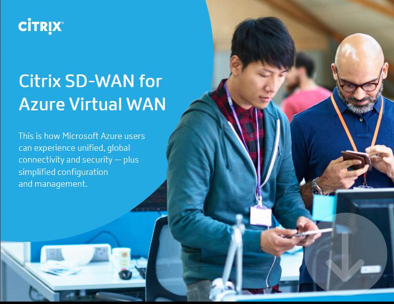 Screenshot 2019 04 16 Citrix SD WAN for Azure Virtual WAN pdf - Citrix SD-WAN for Azure Virtual WAN