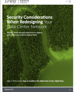 Screenshot 2019 04 20 Security Considerations When Redesigning Your Data Center Network pdf 260x320 - Security Considerations When Redesigning Your Data Center Network