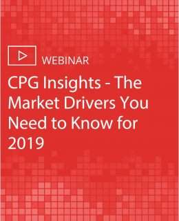 CPG Insights - The Market Drivers You Need to Know for 2019