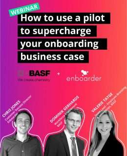 Webinar: How to Use a Pilot to Supercharge Your Onboarding Business Case