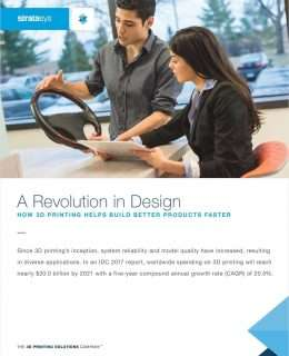 Revolution in Design - How 3D Printing Helps Build Better Products Faster