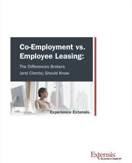 Co-Employment vs. Employee Leasing: The Differences Brokers (and Clients) Should Know