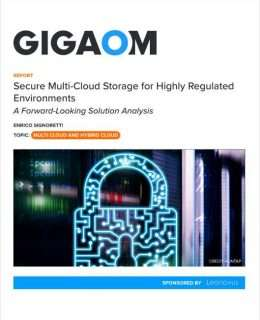 Secure Multi-Cloud Storage for Highly Regulated Environments