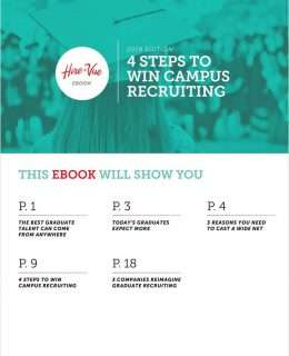 4 Steps to Win Campus Recruiting