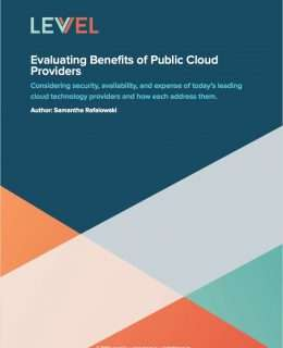 Evaluating Benefits of Public Cloud Providers