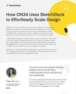 How ON24 Uses SketchDeck to Effortlessly Scale Design