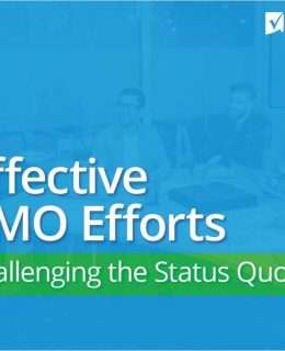 Effective PMO Efforts: Challenging the Status Quo