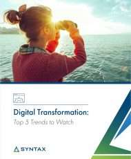 Digital Transformation: Top 5 Trends to Watch