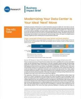 451 Research: Modernizing your data center is your ideal 'next' move