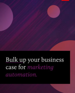 1 9 260x320 - Bulk Up Your Business Case for Marketing Automation