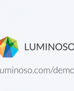 Luminoso Overview Video Cover 260x320 - Luminoso Overview Video