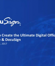 v1 190x230 - How to Create the Ultimate Digital Office With G-Suite and DocuSign