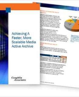 Achieving a Faster, More Scalable Media Active Archive