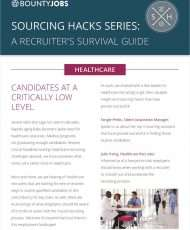 Sourcing Hacks Series: A Recruiter's Survival Guide