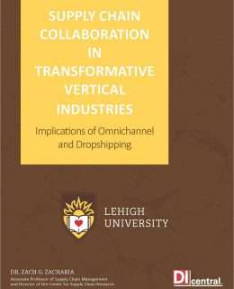 Supply Chain Collaboration in Transformative Vertical Industries: Implications of Omnichannel and Dropshipping