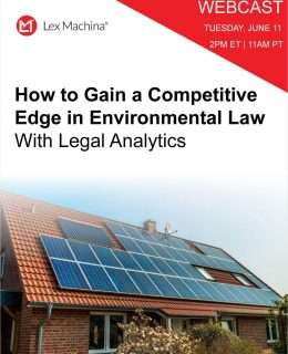How to Gain a Competitive Edge in Environmental Law with Legal Analytics