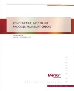CONFIGURABLE, EASY-TO-USE, PACKAGED RELIABILITY CHECK