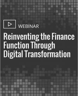 Reinventing the Finance Function Through Digital Transformation