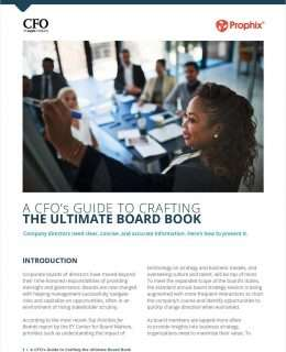 A CFO's Guide To Crafting The Ultimate Board Book