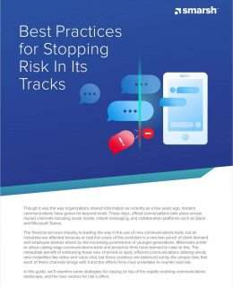 Best Practices for Stopping Communication Risk In Its Tracks