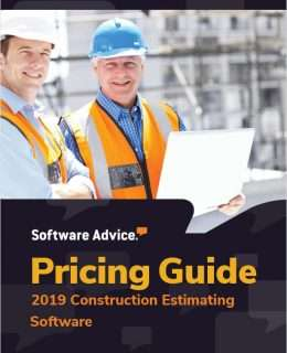 Updated Construction Estimating Software Pricing Guide from Software Advice