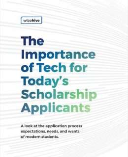 The Importance of Tech for Today's Scholarship Applicants