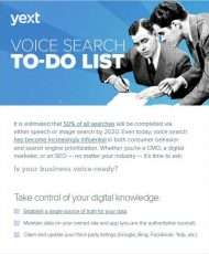 Voice Search To-Do List