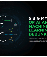 5 big myths of ai and machine learning debunked 190x230 - 5 Big Myths of AI and Machine Learning Debunked