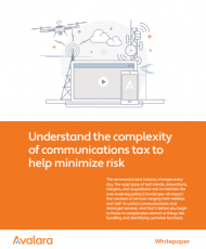 understnf 190x230 - Understand the complexity of communications tax to help minimize risk