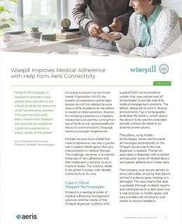 Wisepill Improves Medical Adherence with Help from Aeris Connectivity