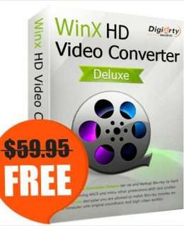 WinX HD Video Converter Deluxe for Win/Mac ($59.95 Value) FREE for a Limited Time
