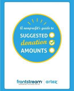 A Nonprofit's Guide to Suggested Giving Levels