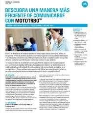 Descubra una manera más eficiente de comunicarse con MOTOTRBO™