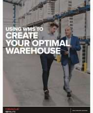 Using WMS to Create Your Optimal Warehouse