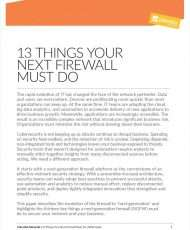 13 Things Your Next Firewall Must Do