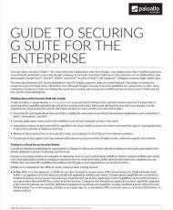 Guide to Securing G Suite for the Enterprise