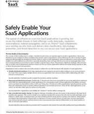 Safely Enable Your SaaS Applications