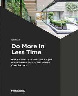 Do More in Less Time: Kenham Building Limited Case Study