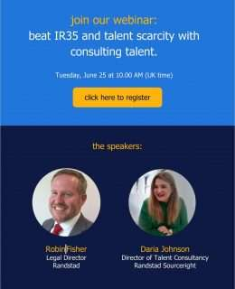 [Webinar] beat IR35 and talent scarcity with consulting talent.