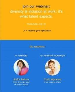 diversity & inclusion at work: it's what talent expects | Talent Navigator Webinar