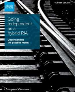 Going independent as a hybrid RIA