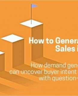 How to Generate the Leads Sales is Demanding