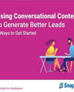 Using Conversational Content to Generate Better Leads