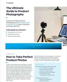 The Ultimate Guide to Product Photography