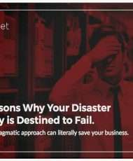 Top Reasons Why Your Disaster Recovery is Destined to Fail